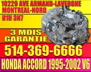 1998-1999-2000-2001-2002 Accord V6 B7XA Transmission Automatique