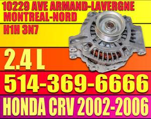 ALTERNATEUR 12V HONDA CRV 2002-2003-2004-2005-2006 2.4