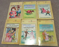 Little House on the Prairie Laura Ingalls books vintage