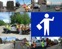 Now Hiring Traffic Control Persons - Flexible Hours