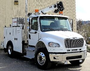 Service Truck Ready to go to work