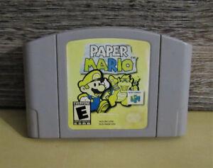 Paper mario N64, authentic