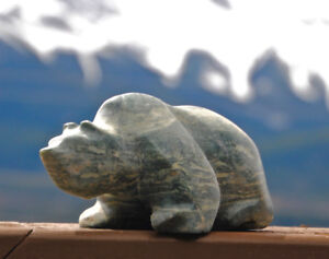 2 Inuit Stone Carvings - $475