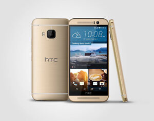 New:(Gold)HTC M9 Smartphone-20MP Cam With Warranty.