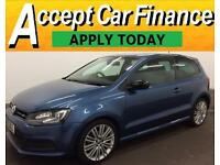 Volkswagen Polo 1.4 TSI ( 140ps ) ACT DSG 2013MY BlueGT FROM £51 PER WEEK!
