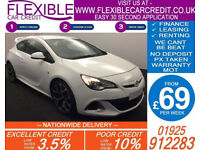 2014 VAUXHALL ASTRA GTC 2.0 VXR GOOD / BAD CREDIT CAR FINANCE AVAILABLE