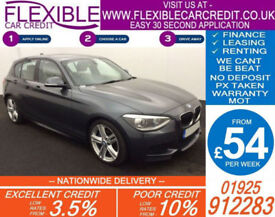 2013 BMW 120D 2.0 M-SPORT GOOD / BAD CREDIT CAR FINANCE AVAILABLE
