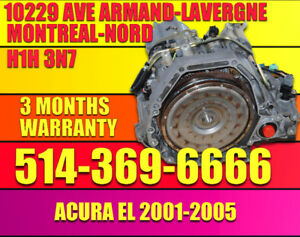 2001-2002-2003-2004-2005 Acura 1.7 El Transmission Automatique