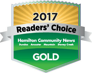 THANK YOU HAMILTON FOR AWARDING US GOLD BEST TIRE SHOP