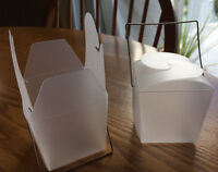62 NEW CLEAR FAVOUR BOXES FOR PARTIES OR WEDDINGS