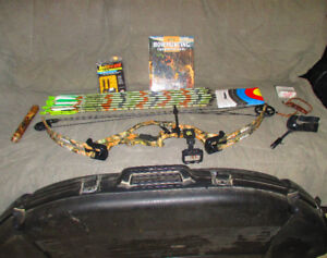 Fully Equipped for Hunting! Compound Bow & Accessories