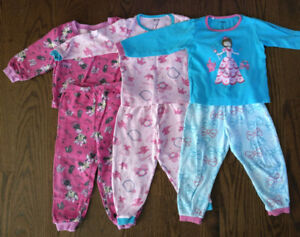 Pajamas for the Girl 2T/3T