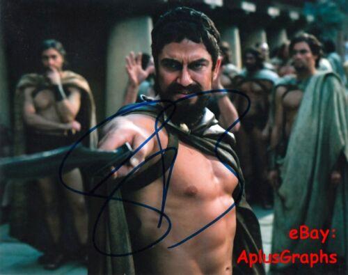 GERARD BUTLER.. Sparta Stud (300) SIGNED