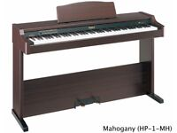 Roland HP-1 Digital Piano in Rosewood, Full Size 88 weighted keys, 2 pedals, slim design.