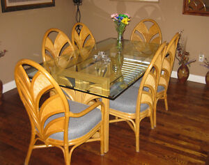 Dining Room Set with side table and coffee table