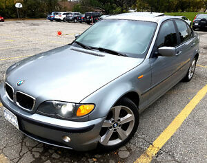 2004 BMW 325XI AWD No Accident Perfect Condition