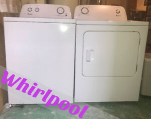 HE  *WHIRLPOOL* Washer & Dryer (1.5 year warranty & Delivery!!)