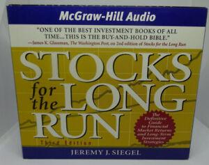 Stocks for the Long Run Audio book CD's