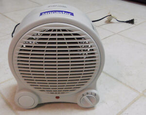 Lancaster Compact Multi-Setting Fan Heater