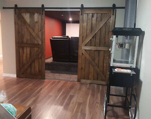Custom Handcrafted Sliding Barn Doors, Hardware & Soft Close