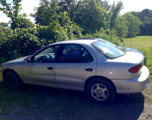 2002 Chevrolet Cavalier + Cavalier Parts Car & Spare Tires/Rims