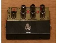 Eden WTDI Direct Box and Bass Preamp Pedal. As new, original packaging and PSU