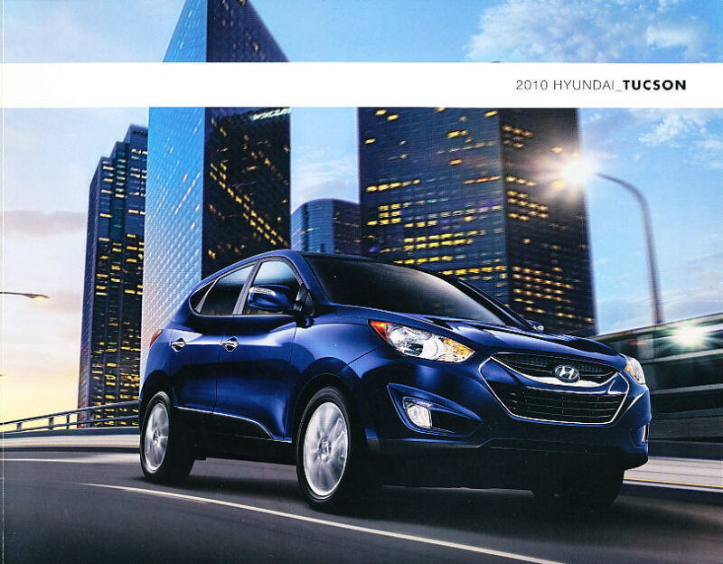 2010 Hyundai Tucson 24-page Original Car Sales Brochure Catalog