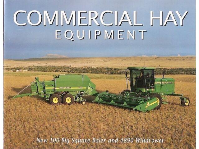 Farm Equipment Brochure - John Deere - 100 Baler 4
