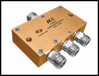 10 new MECA H3N-1.950, 1.7-2.2 GHz 120W, 3-Way Power Divider, N-Female Connector