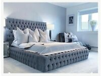 Gorgeous button detailed bed