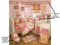 Baby Girl STUNNING Nursery Set 20 Pieces Tropical Punch by Cocalo from Kidsline - REDUCED PRICE
