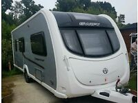 Swift conqueror 540 4 berth Touring caravan cassette toilet motor mover full awning
