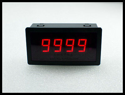 Dc8-24v Intelligent Digital Counter 4-digit Display Can Be Cleared Range 0-9999