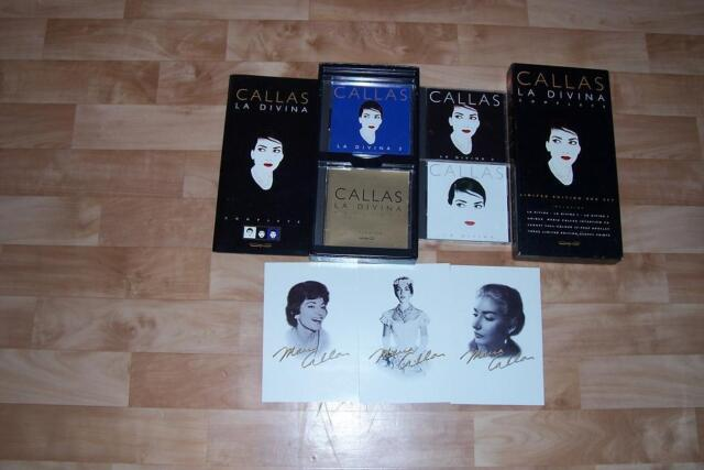 Maria Callas: La Divina Box Set (Limited Edition) - 4 CD - Klassik
