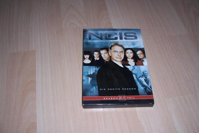 NCIS - Season 2.1 --- Serie --- 3 DVD`s ---  Box --- NAVY CIS