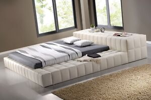 King bed GREY Last one HALF PRICE RRP 2499 PRESTIGE NEW LEATHER Wangara Wanneroo Area Preview