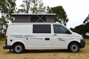 Volkswagen Frontline Campervan 4Motion with 4 Seats & Hot Shower
