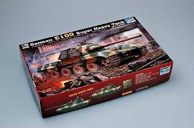 Trumpeter 1/35 00384 German E-100 Super Heavy Tank for sale  Shipping to Canada