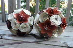 Paper Flowers for Wedding - NEVER USED Kingston Kingston Area image 3