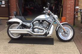 Harley Davidson V-Rod 2002 very good all round condition on this low mileage bike, at a great price