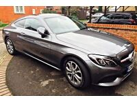 Mercedes-Benz C Class 2.1 C220d Sport (Premium) 9G-Tronic Plus 2dr (start/stop) - 1 Lady Owner