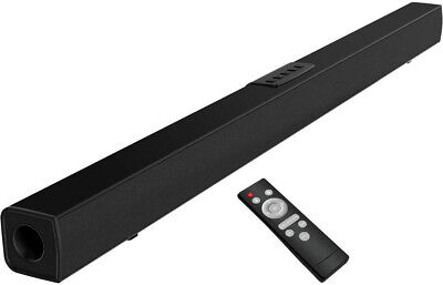 Subwoofer Wireless Sound Bar for Smart TV 4K Roku Samsung Sony Apple iPhone