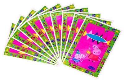20pc PEPPA PIG GIFT BAG, LOOT BAG Party Supplies Kids love this  theme/FAST SHIP