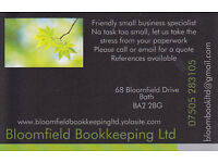 Bookkeeping in Bath-Bloomfield Bookkeeping Ltd