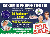 LANDLORDS WANTED GUARANTEED LETS RENT TODAY