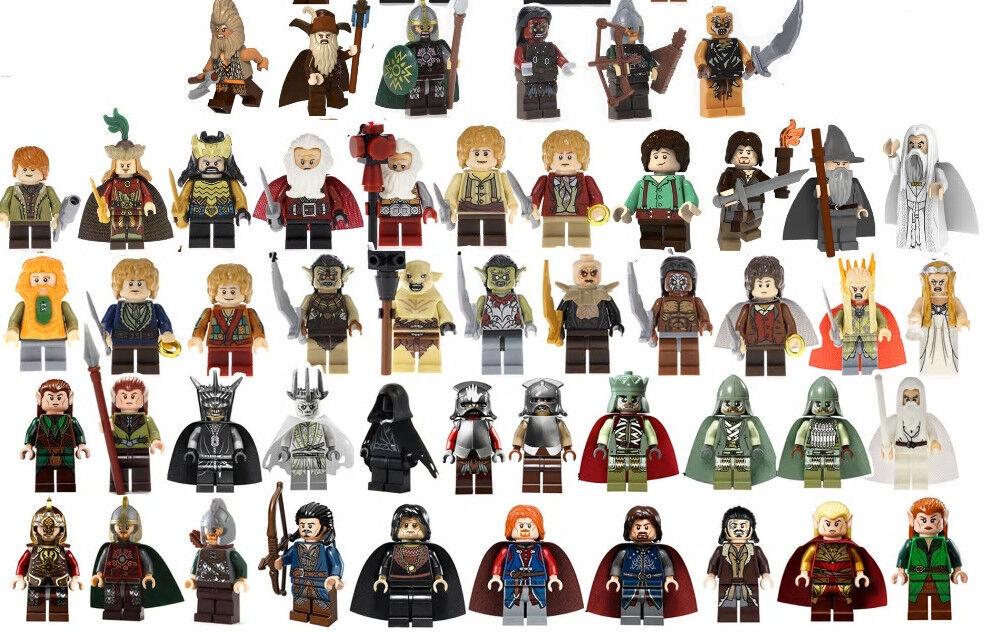 figurine - le seigneur des anneaux - hobbit - neuf - minifig / type lego