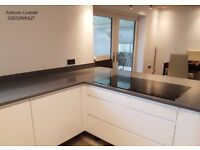 Buy Grey Mirror Quartz Worktop for Kitchen & Home | 02032908427