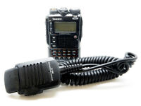 Yaesu VX8 Tri-Band Handheld Radio and Extras