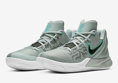 Nike Kyrie Flytrap II Basketball Shoes Wolf  Gray Geode AO4436-003 Men's NEW