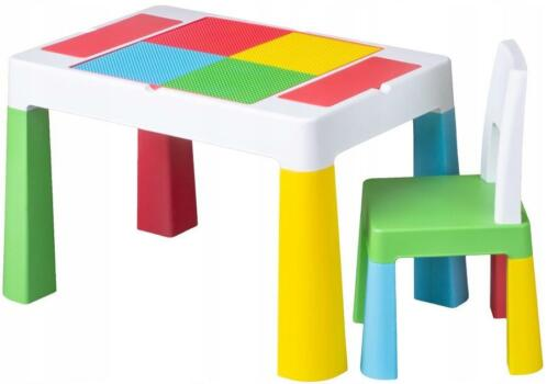 Baby Stoeltje Tafel.Tega Baby Multicolor 3 In 1 Tafel Met Stoeltje Mf 001 134